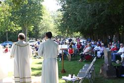 Click to view album: July 4, 2017 Mass at St. Bernard Cemetery