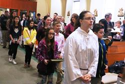 Click to view album: Catechetical Children's Liturgy, December 2, 2018